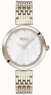 BOSS | женский браслет из бледно-розового золота | 1502480