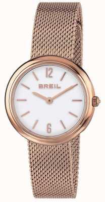 Breil | дамский ремешок из ириса с розовым золотом | TW1778