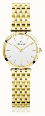 Michel Herbelin | женская | эпсилон | экстра-плоский золотой браслет из пвд | 17116/BP11