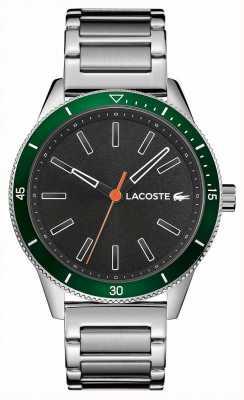 Lacoste | мужская Ки-Уэст | браслет из нержавеющей стали | серый циферблат | 2011009