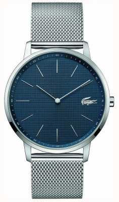 Lacoste | мужская луна | браслет из стальной сетки | синий циферблат | 2011005