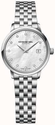 Raymond Weil | женская алмазная токката | браслет из нержавеющей стали | 5985-ST-97081