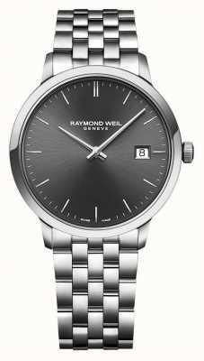 Raymond Weil | мужские токката | браслет из нержавеющей стали | серый циферблат | 5485-ST-60001