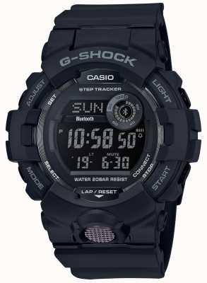 Casio | черные цифровые резиновые часы | GBD-800-1BER