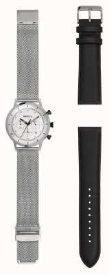 Breil | мужские часы из нержавеющей стали | дополнительный кожаный ремешок | TW1806