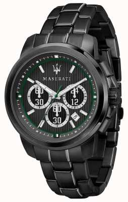 Maserati Циферблат Royale черный циферблат черный сталь с покрытием ПВХ R8873637004