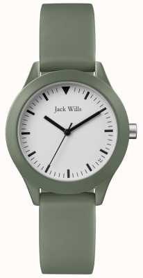 Jack Wills | женский серый резиновый ремешок | JW008FGFG