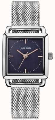 Jack Wills | женские часы с металлической сеткой | синий циферблат | JW016NVSL