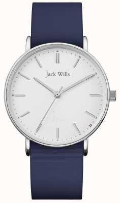 Jack Wills | женский силиконовый ремешок сандхилл синий | JW018WHNV