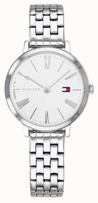 Tommy Hilfiger | женский браслет из нержавеющей стали | белый циферблат | 1782056