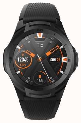 TicWatch S2 | полуночные умные часы | черный силиконовый ремешок 131585-WG12016-BLK