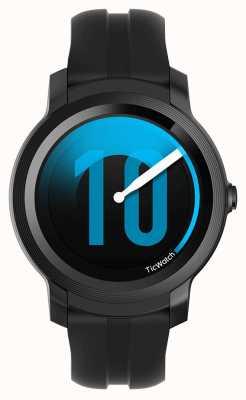 TicWatch Е2 | тень умные часы | черный силиконовый ремешок 131586-WG12026-BLK