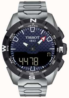 Tissot   мужской T-Touch эксперт солнечной II   титановый браслет   T1104204405100