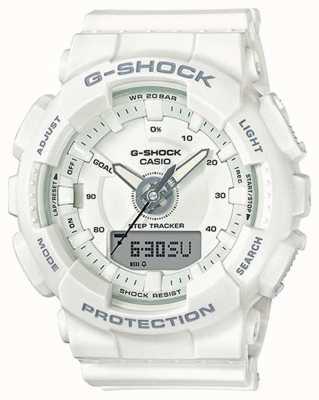 Casio | женская смола g-shock | белый ремешок | GMA-S130-7AER