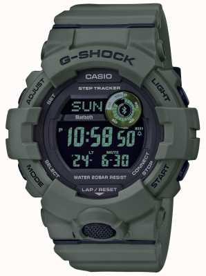 Casio | г-шок зеленый | bluetooth | умные часы GBD-800UC-3ER