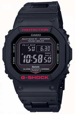 Casio Мужская G-Shock наследия черный ремешок смолы GW-B5600HR-1ER