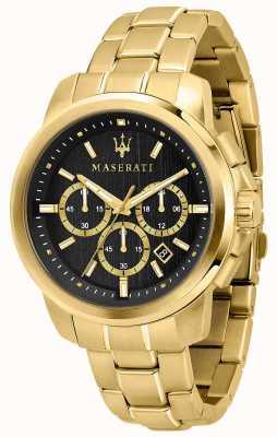 Maserati Часы Successo с позолотой R8873621013