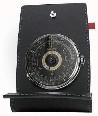 Klokers Klok 08 черный циферблат с часами KLOK-08-D3+KPART-01-C2