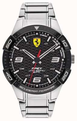 Scuderia Ferrari | верхушка мужская | браслет из нержавеющей стали | черный циферблат | 0830641