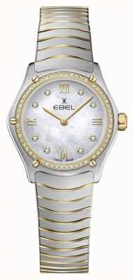 EBEL Женская спортивная классика 53 бриллианта 18-каратного желтого золота 1216412A