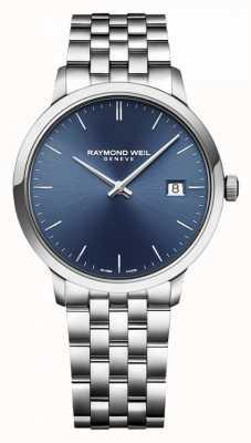 Raymond Weil | мужская токката | классическая нержавеющая сталь | синий циферблат | 5485-ST-50001