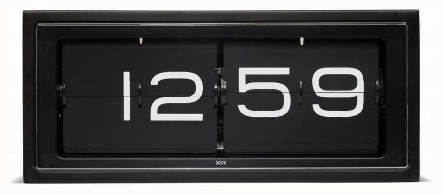 Leff Amsterdam | часы из черного кирпича | LT15401