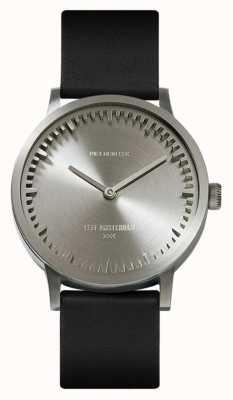 Leff Amsterdam | наручные часы | T32 | сталь | черный кожаный ремешок | LT74111