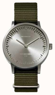 Leff Amsterdam | наручные часы | T32 | сталь | зеленый нато ремешок | LT74131