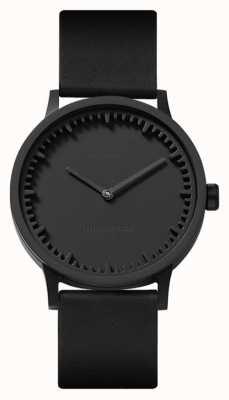 Leff Amsterdam | наручные часы | T32 | черный | черный кожаный ремешок | LT74212
