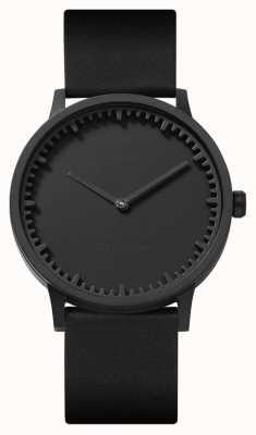 Leff Amsterdam | наручные часы | T40 | черный | черный кожаный ремешок | LT75212