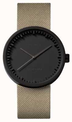Leff Amsterdam | наручные часы | D38 | черный | ремешок с песком coedura | LT71013