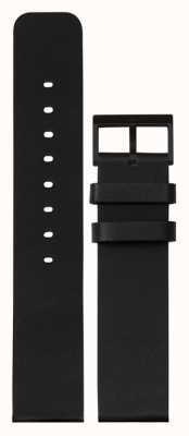 Leff Amsterdam | черный кожаный ремешок | черная пряжка | LT75012-STRAP