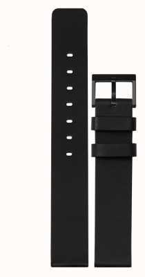 Leff Amsterdam | черный кожаный ремешок | черная пряжка | LT74012-STRAP