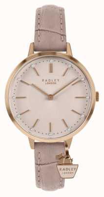 Radley | женский обнаженный кожаный ремешок | розовый циферблат | RY2802