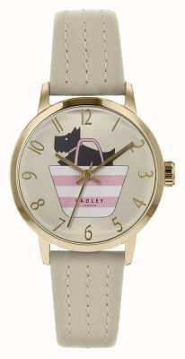 Radley | женский серый кожаный ремешок | печатная собака в сумке циферблате | RY2790