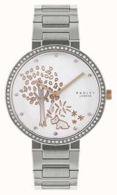 Radley | женский браслет из нержавеющей стали | циферблат с мотивом дерева | RY4387