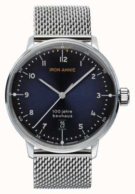 Iron Annie Баухауз | синий циферблат | сетка из нержавеющей стали 5046M-3