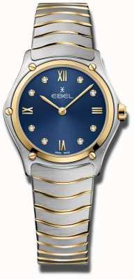 EBEL Классика женского спорта | синий циферблат | браслет из нержавеющей стали 1216446A
