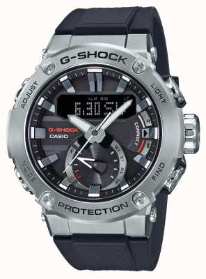Casio G-steel G-Shock Bluetooth Link 200 м WR резиновый ремешок GST-B200-1AER