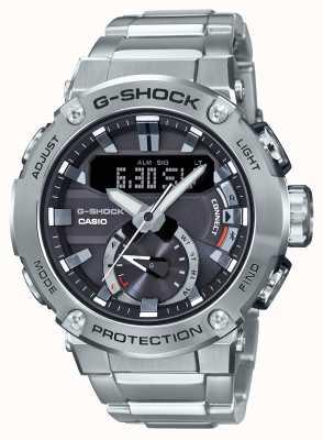 Casio G-сталь G-Shock Bluetooth соединение 200 м WR из нержавеющей стали GST-B200D-1AER