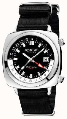 Briston Clubmaster GMT Limited Edition | авто | черный нато ремешок 19842.PS.G.1.NB