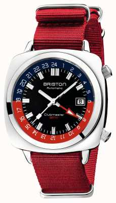 Briston Ограниченная серия Clubmaster gmt | авто | красный ремешок нато 19842.PS.G.P.NR