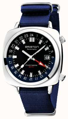 Briston Clubmaster GMT Limited Edition | авто | синий нато ремешок 19842.PS.G.9.NNB