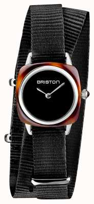 Briston | владелец клуба леди | один черный нато | ацетат черепахи | 19924.SA.T.1.NB