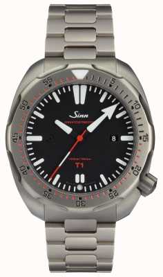 Sinn Модель T1 (EZM 14) часы для дайвинга 1014.010