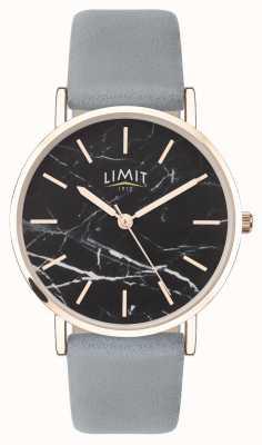 Limit | женский секретный сад | серый кожаный ремешок | черный циферблат | 60046.73