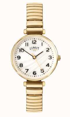 Limit | женский позолоченный браслет | перламутровый циферблат | 60063.01