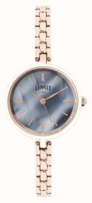 Limit | женский браслет из розового золота | синий циферблат | 60064.01