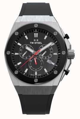 TW Steel | Генеральный директор | ограниченная серия | хронограф | черная резина | CE4042
