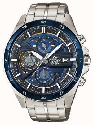 Casio | строительный хронограф | нержавеющая сталь | синий циферблат | EFR-556DB-2AVUEF
